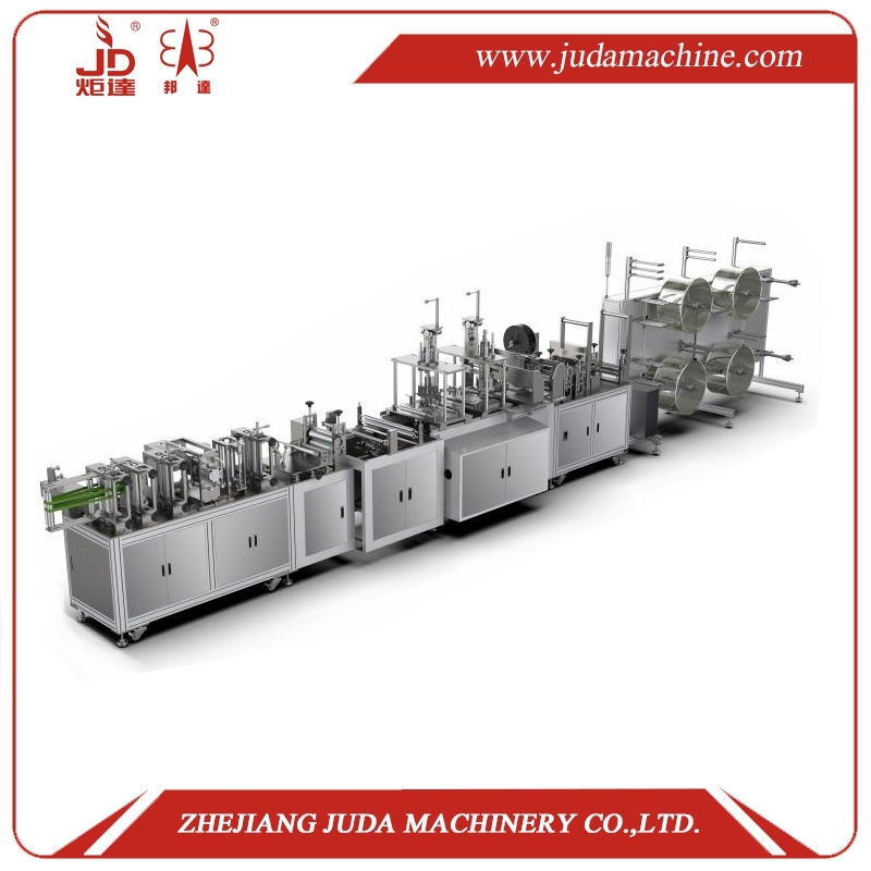 N95 KN95 Fully Automatic  Mask Making Machine