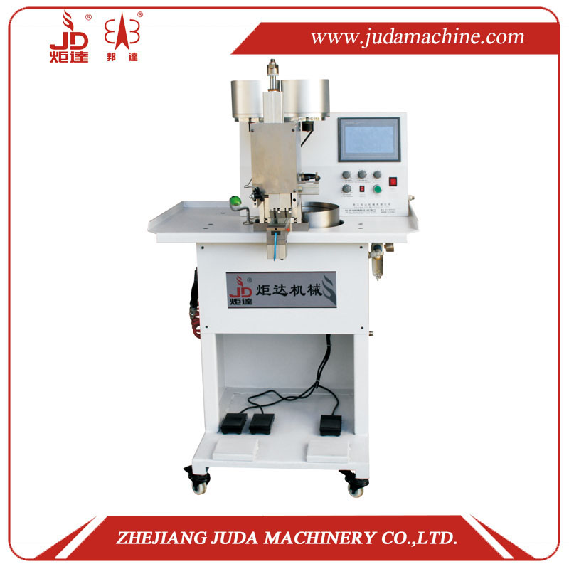 JD-136D Automatic Double-Colour Pearl & Nail Riveting Machine